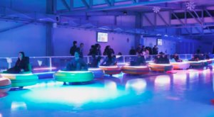 Challenge Your Friends To The Ultimate Showdown At Bumper Cars On Ice In Orlando, Florida