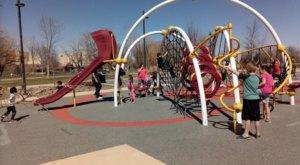 6 Amazing Playgrounds In South Dakota That Will Make You Feel Like A Kid Again