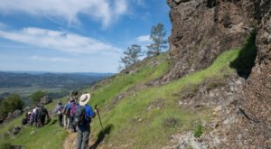 Walk Through 5,272 Acres Of Rock Formations At Northern California's Robert Louis Stevenson State Park
