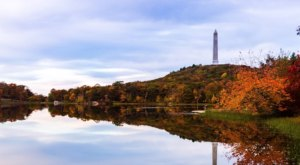 Visit High Point State Park In New Jersey For An Absolutely Beautiful View Of The Fall Colors