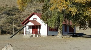 Explore The Century-Old Elgin Schoolhouse At A Historic Site In The Nevada Backcountry