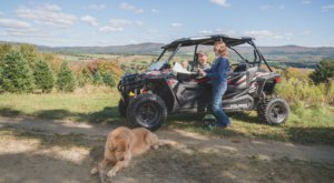 There Are More Than 1,000 Miles To Explore On A Family-Friendly Fall Foliage ATV Tour In New Hampshire