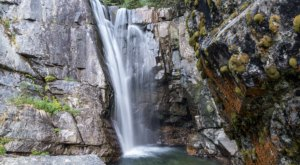The Hidden Falls At Lightning Creek In Idaho Are Beautiful To Visit Year-Round