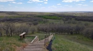 Climb 193 Steps To The Top Of Sullys Hill In North Dakota And You Can See All The Way Across Devils Lake