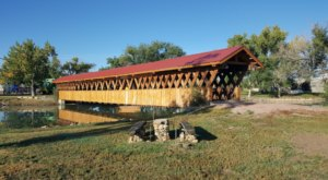 The Most Beautiful South Dakota Covered Bridge To Explore This Fall Is In Edgemont City Park