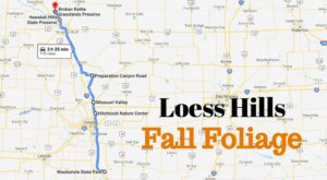 The Road Trip Through The Loess Hills In Iowa Will Take You Through Sheer Autumnal Perfection