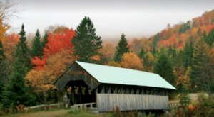 Here Are 10 Of The Most Beautiful Maine Covered Bridges To Explore This Fall
