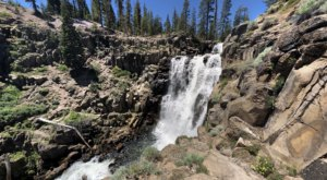 There's A Secret Waterfall In Northern California Known As Webber Falls, And It's Worth Seeking Out