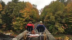Pedal Through The Adirondack Mountains During New York's Foliage For The Ultimate Fall Outing