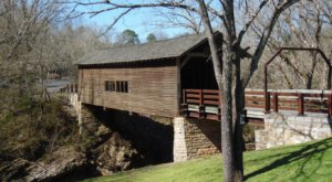 The Oldest Covered Bridge In Tennessee Has Been Around Since 1875