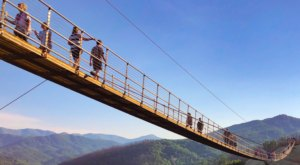 The Views From The Longest Pedestrian Suspension Bridge In America, Tennessee's SkyBridge, Will Blow You Away