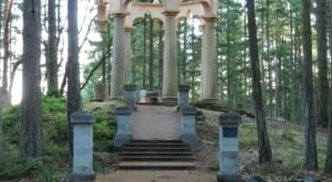 Pay A Halloween Visit To Afterglow Vista, Washington's Spookiest Mausoleum