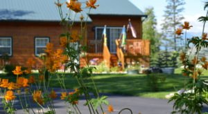 Watch The Leaves Change At The Beautiful Lake Lucille Bed And Breakfast In Alaska