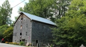 Take A Tour Of Bears Mill, An Ohio Treasure That's One Of The Last Working Grist Mills Of Its Kind