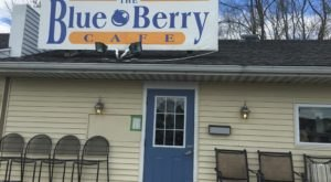 On The Weekends, The Muffin Man Visits Every Table At The Blue Berry Cafe In Ohio