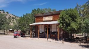 You Will Feel A Thousand Miles Away From It All In The Isolated Ghost Town Of Chloride, New Mexico