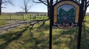 Autumn Is The Time To Visit The Conway Cemetery State Park In Arkansas