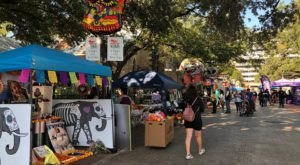 Enter A World Of Colorful Creepiness At Texas' Day Of The Dead Parade