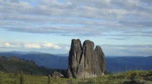 Hike Through Miles Of Rock Formations On Alaska's Granite Tors Trail