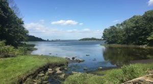 The Beautiful Rome Point Trail Is An Easy 2-Mile Hike In Rhode Island That's Great For Beginners And Kids