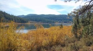 The Hike Around Spooner Lake Will Take You To The Most Spectacular Fall Foliage In Nevada