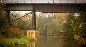Walk Across The Devil's Gulch Bridge For A Gorgeous View Of South Dakota's Fall Colors