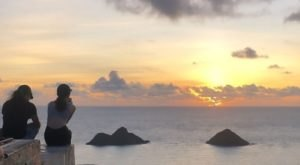 Lanikai Pillboxes Is One Of The Most Spectacular Places To Watch The Sun Rise In Hawaii