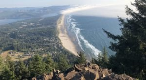 You'll Enjoy Ocean Views For Miles From Oregon's Scenic Neahkahnie Mountain Overlook