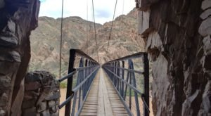 Walk Across A 440-Foot Suspension Bridge On South Kaibab Trail In Arizona