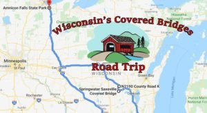 Hop In The Car And Visit 7 Of Wisconsin's Covered Bridges In One Day