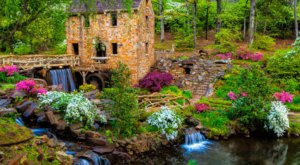 The Waterfall Has Returned To The Old Mill In Arkansas And It's Even More Beautiful