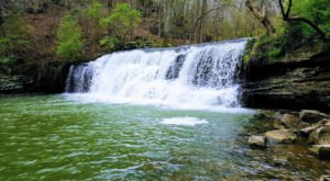 There's A Secret Waterfall In Alabama Known As Mardis Mill Falls, And It's Worth Seeking Out