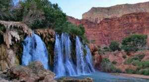 There's A Secret Waterfall In Arizona Known As New Navajo Falls, And It's Worth Seeking Out
