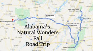 Take A Natural Wonders Road Trip To See Alabama In The Fall Like You Never Have Before