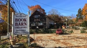 You'll Find Over 500,000 Books Under One Roof At The Book Barn, A Book Warehouse In Connecticut