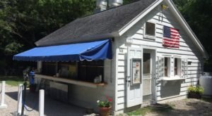 Satisfy Your Cravings With A Visit To Connecticut's Decades Old Roadside Burger Joint, Clamp's Hamburger Stand