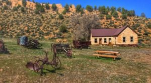 Visit The Century-Old Buildings At Spring Valley State Park In Nevada For A Fascinating Day Trip
