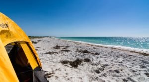 Spend The Night Tent Camping On This Secluded Island In Florida's Cayo Costa State Park