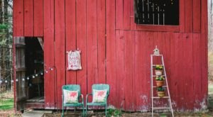 Spend The Night Inside This Charming Barn Loft In West Virginia For A Magical Overnight Stay