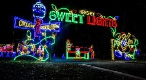6 Drive-Thru Christmas Lights Displays In Pennsylvania The Whole Family Can Enjoy