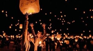 The Lights Festival Is A Sky Lantern Fest In Mississippi That's A Night Of Pure Magic