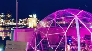 Stay Warm And Cozy This Season In A Rooftop Igloo Bar In Cincinnati