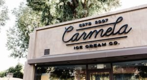 Stop By Carmela Ice Cream, A Charming Ice Cream Shop With Delicious Hard Scoop In Southern California