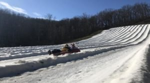 The Longest Snow Tubing Run In Missouri Can Be Found At Hidden Valley Ski Resort