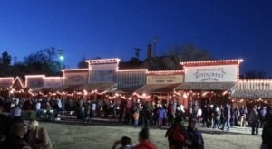 Dodge City, Kansas Has One Of The Most Enchanting Main Streets In The Country At Christmastime
