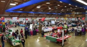 Wander Through A Building Full Of Holiday Treasures At This Idaho Christmas Show