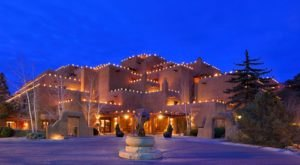 The Inn And Spa At Loretto In New Mexico Gets All Decked Out For Christmas Each Year