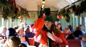 All Aboard For Christmas Cheer And Caroling On The Elf Express In Vermont