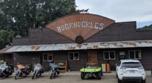 Located Out In The Boonies, Bucknuckles In Wisconsin Is A Deliciously Fun Place To Have A Meal