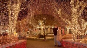 Experience Pure Holiday Magic At The Lighting Of This Downtown Square In Arkansas